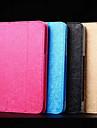 Capinha Para Huawei Capa de Corpo Inteiro Cases com Suporte Capa Protecao Completa Cor Solida Padrao em Grelha/Xadrez Rigida PU Leather