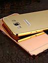 용 삼성 갤럭시 케이스 도금 / 거울 케이스 뒷면 커버 케이스 단색 PC Samsung A8 / A7 / A5