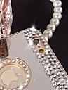 puro diamante artesanal de diamantes brilhando espelho capinha para o iphone mais 6 / 6s mais (cores sortidas)