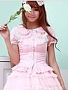 Sweet Lolita White / Black / Pink Blouse