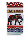 Case For Samsung Galaxy Samsung Galaxy Case Card Holder Wallet with Stand Flip Pattern Full Body Cases Elephant PU Leather for J7 J5 J3