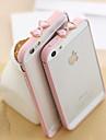 Для Кейс для iPhone 5 Защита от удара Кейс для Задняя крышка Кейс для Один цвет Твердый PC iPhone SE/5s/5
