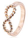 Damen Bandring Statement-Ring - versilbert, vergoldet damas, Modisch Schmuck Silber / Golden Fuer Party Alltag Normal 7