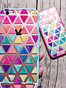For iPhone 6 Case / iPhone 6 Plus Case Other Case Back Cover Case Geometric Pattern Soft TPU iPhone 6s Plus/6 Plus / iPhone 6s/6