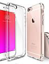 Coque Pour Apple iPhone 6 iPhone 6 Plus Transparente Coque Couleur unie Flexible TPU pour iPhone 6s Plus iPhone 6s iPhone 6 Plus iPhone 6