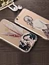 For iPhone X iPhone 8 iPhone 8 Plus iPhone 6 iPhone 6 Plus Case Cover Transparent Back Cover Case Cartoon Hard Acrylic for iPhone X