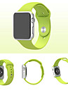 Pulseiras de Relogio para Apple Watch Series 3 / 2 / 1 Apple Tira de Pulso Pulseira Esportiva Silicone