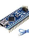 Nano v3.0 dla Arduino ATmega328P (współpracuje z oficjalnych płyt Arduino)