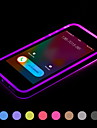 Call LED Blink Transparent TPU Back Cover Case For iPhone 6 Plus(Assorted Colors)