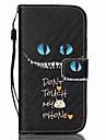 Para Samsung Galaxy Capinhas Porta-Cartao / Carteira / Com Suporte / Flip Capinha Corpo Inteiro Capinha Desenho Couro PU SamsungS6 edge