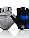 FJQXZ Sports Gloves Bike Gloves / Cycling Gloves Wearproof Fingerless Gloves Mesh Cycling / Bike Men\'s Women\'s