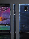 Deluxe PU Leather Case with Card Slot for Galaxy Note 4 Galaxy Note Series Cases / Covers