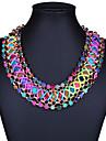 Women\'s Bohemian Fashion Handmade European Choker Necklace Alloy Choker Necklace ,