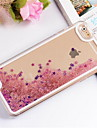 Case For Apple iPhone 6 iPhone 6 Plus Flowing Liquid Back Cover Glitter Shine Hard PC for iPhone 6s Plus iPhone 6s iPhone 6 Plus iPhone 6