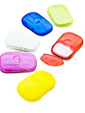 Creative Plastic Waterproof Portable Soap Dish for Travel Storage