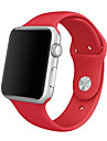 Bracelet de Montre  pour Apple Watch Series 3 / 2 / 1 Apple Sangle de Poignet Bracelet Sport Silikon