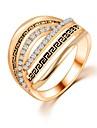 Жен. Классические кольца Уникальный дизайн Мода бижутерия Циркон Бижутерия Бижутерия Назначение Свадьба Для вечеринок Повседневные