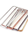 Case For Samsung Galaxy Samsung Galaxy Case Plating Transparent Back Cover Solid Color TPU for A7(2016) A5(2016) A9 A8 A7 A5