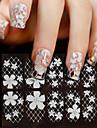 Цветы / Абстракция / Свадьба-3D наклейки на ногти / Прочие украшения-Пальцы рук-15*7.5-1-Прочее