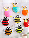 Creative Cartoon Animal Sucker Toothbrush Holder Bathroom Products Accessories Wall Mount Stand For Toothpaste Spinbrush Holder