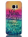 For Samsung Galaxy S7 Edge Pattern Case Back Cover Case Scenery PC Samsung S7 edge plus / S7 edge / S7