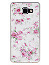For Samsung Galaxy Case Pattern Case Back Cover Case Flower TPU Samsung A7(2016) / A5(2016) / A3(2016) / A9