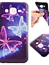 For Samsung Galaxy Case Pattern Case Back Cover Case Butterfly TPU Samsung J5 / J1 / Grand Prime / Core Prime