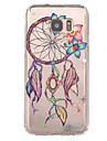 Dreamcatcher Pattern TPU Relief Back Cover Case for Galaxy S7 /Galaxy S7 edge