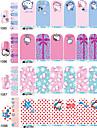 1 Bijoux a ongles Autres decorations Bouts  pour ongles entiers Bouts pour moities d\'ongles Abstrait Dessin Anime Mode Adorable Quotidien