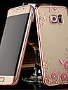Para Samsung Galaxy Note Transparente Capinha Capa Traseira Capinha Flor TPU Samsung Note 5 / Note 4 / Note 3
