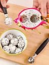 παγωτό διπλό κουτάλι κουταλιού πεπόνι κόφτη φρούτα εργαλεία κουζίνας