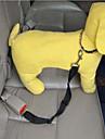 Коты / Собаки Поводки / Собачья упряжка для использования в авто/Собачья упряжка для безопасности Регулируется/ВыдвижнойКрасный / Черный