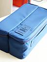 Organisateur de Bagage Trousse de Toilette Portable Multifonction Rangement de Voyage pour Vetements Soutiens-gorge Chaussettes