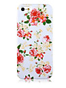 For iPhone 5 Case Pattern Case Back Cover Case Flower Hard PCiPhone 7 Plus / iPhone 7 / iPhone 6s Plus/6 Plus / iPhone 6s/6 / iPhone