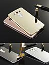 Luxury Ultra Slim Bling Metal Aluminum Alloy Frame Mirror Acrylic Plastic Back Cover Case For LG V10