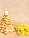 Инструменты для выпечки пластик Своими руками Творческая кухня Гаджет 3D конфеты Шоколад Печенье Торты Формы для нарезки печенья