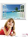 보태니컬 / 정물화 / 풍경 / 판타지 벽 스티커 3D 월 스티커,pvc 60*90cm