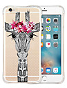 Animation World Soft Transparent Silicone Back Case for iPhone 6s 6 Plus