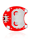 키이스는 릴리 패드 아두 착용 CCR - 배터리없이 2004 (빨간색) 버튼 전지 모듈