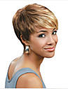 Top Quality Mix Color  Short Straight Synthetic Hair Wig for Party&Daily