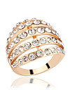 Z&X® Alloy Ring Statement Rings Party / Daily / Casual 1pc