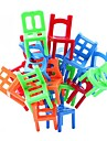 Stacking Chairs Balance Game Office Puzzle Educational Toy Multi-Colored (18pcs)