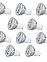 10 stuks 3 W 260 lm GU10 / GU5.3 / E26 / E27 LED-spotlampen 3 LED-kralen Krachtige LED Decoratief Warm wit / Koel wit 220-240 V / RoHs