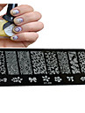 1 pcs Drafting Tools &  Accessories / Stamping Plate / Nail Stamping Tool Template Nail Art Design Fashionable Design Stylish / Professional / High Quality