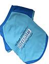 Cachorro Camiseta Roupas para Caes Carta e Numero Azul Nailon Ocasioes Especiais Para animais de estimacao Homens Fashion