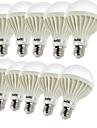 YouOKLight 450 lm E26/E27 Круглые LED лампы B 9 светодиоды SMD 5630 Декоративная Тёплый белый AC 220-240V