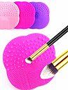 1PCS Multi-function Silicone Makeup Cosmetic Brush Cleansing Pad for Cleanning Makeup Cosmetic Brush(3 Color Choose)