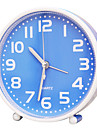 Cute Shape Novelty Mute Fashion Plastic Alarm Clock (Random Color)