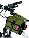 Bolsa de Bicicleta 1.5LBolsa para Quadro de Bicicleta Zíper á Prova-de-Água Vestível Á Prova de Humidade Resistente ao ChoqueBolsa de