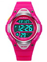 SKMEI Digital Relogio digital Relogio Esportivo Alarme Calendario Cronografo Impermeavel Cronometro LCD Luminoso Borracha Banda Fashion